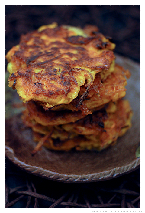 Carrot and Cumin Fritters© by Haalo