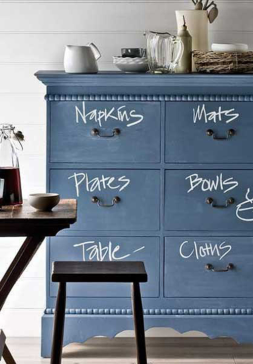 Diy Chalkboard Paint A Chest Of Drawers The Style Files