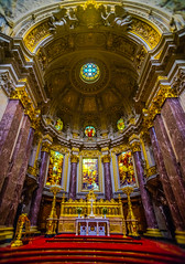 Berlin: Sights around the City (Falcdragon) Tags: city berlin art church germany march cathedral sony religion indoors inside 16mm a7 sights lightroom 2014 ilce7