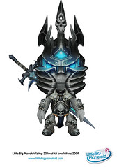 Arthas, the Lich King (WoW) (LittleBigPlanetoid) Tags: costumes wow sony worldofwarcraft warcraft mediamolecule littlebigplanet sackboy littlebigplanetoid