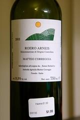 2003 Matteo Correggia Roero Arneis