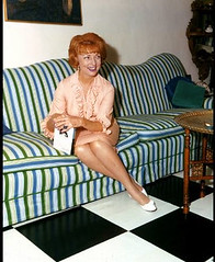 Endora on Couch (saltycotton) Tags: bewitched endora agnesmoorehead