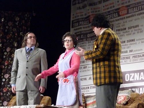 Left: Jozo Procko, Zuzana Tluckova, Marian Labuda