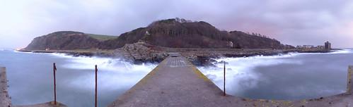 Portencross from the Pier 20Jan09