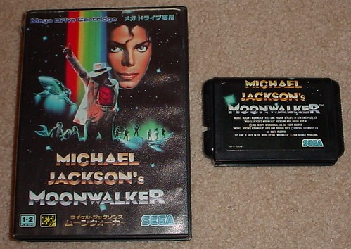 Michael Jackson's Moonwalker for the Sega Mega Drive (JPN)