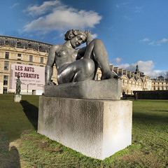 La Montagne - Maillol - 18-01-2009 - 15h53 (Panoramas) Tags: sculpture paris france grass statue les montagne square la vanishingpoint perspective arts jardin vert du ombre des ciel squareformat dina format tuileries nuages lead mtal verte ptassembler carrousel herbe carr maillol gazon socle plomb etiennecazin pointdefuite smartblend pidestal dcoratifs vierny tiennecazin