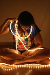 iluminada! (Analía Acerbo Arte) Tags: luz fe iluminacion virgendeguadalupe inspiración lalupita