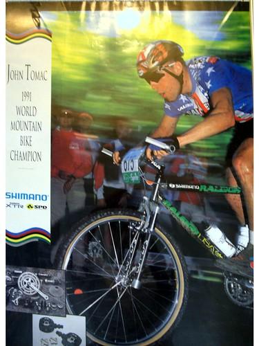 1991 SHIMANO XTR POSTER