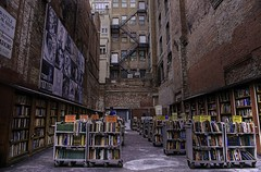 Brattle Book Shop (Michael_Underwood) Tags: books bookstore weststreet downtownboston bostonmassachusetts brattlebookshop hdrsingleraw singlerawhdr nikond90 nikon1685vr