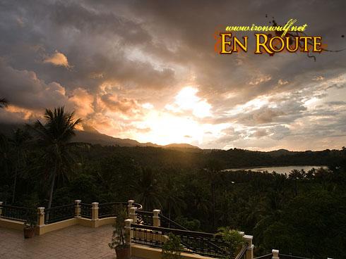 Puerto Galera Manor Viewdeck Sunset