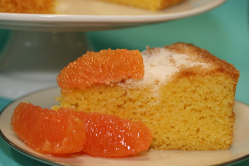 Here's the recipe for Orange Cornmeal Cake ! Make this cake and have a ...