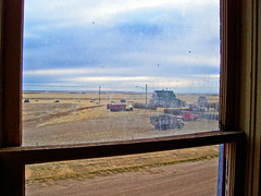 Saskatchewan (The Lost Canuck Photography by Cody Kapcsos) Tags: old canada abandoned rural ghosttown trucks saskatchewan dirtywindow omot robsartsaskatchewan