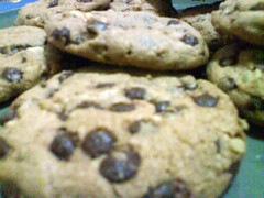 Chocolate chip cookies experiment #1 - 06