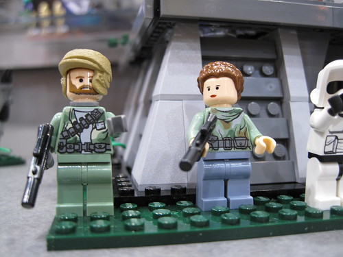 Battle of Endor rebel minifigs