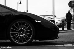 Superleggera (Jeroen Claes) Tags: bw white black detail canon eos 50mm jeroen italia belgium knokke f18 zwart wit lamborghini supercar gallardo zw claes superleggera 450d jeroenclaes