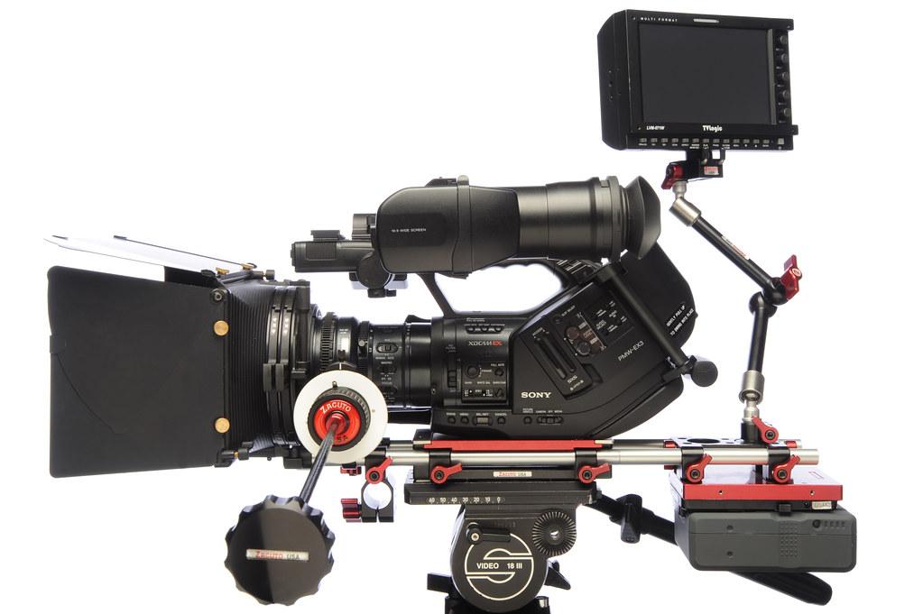 Sony EX3 Zacuto Indie kit