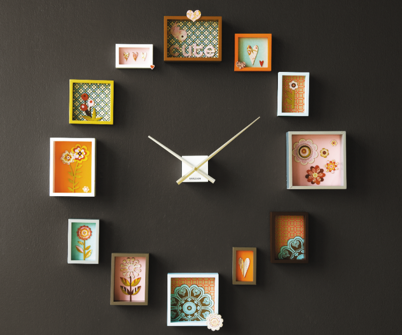 Outstanding Picture Frame Wall Clock Ideas 800 x 666 · 707 kB · png
