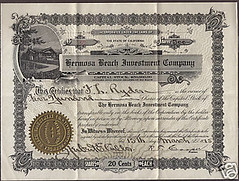 Hermosa Beach Investment Company March 15, 1915 (Ron Felsing) Tags: 1915 hermosabeach 90254 hermosabeachinvestmentcompany