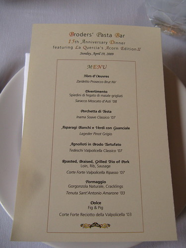 Acorn Edition II Menu