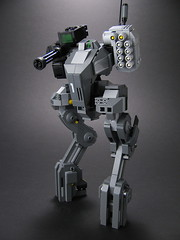 ICON Class Command Mech (mondayn00dle) Tags: dawn highway lego military hour forge zero 44 mecha mech foitsop