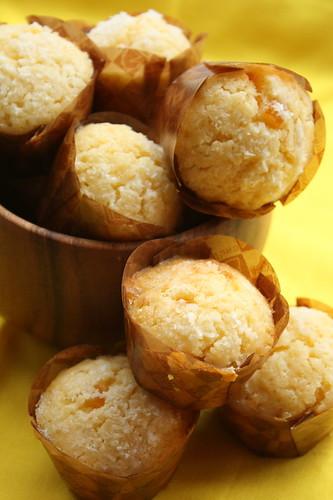 Dry mango&marmelade mini muffin