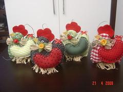 presente pra Dete.. (Renata ...) Tags: galinha patchwork galinhas