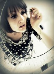 195/365 (anna.creedon) Tags: portrait selfportrait reflection female self mirror makeup tuesday mascara day195 spt project365 mascaraed project3661 project365140709 project36514jul09
