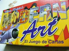 Modern Art: El juego de cartas