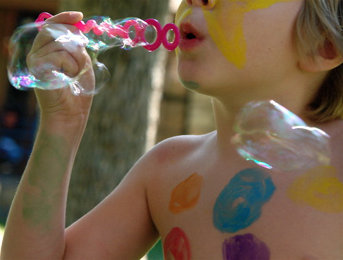 Bubbles and Paint 2