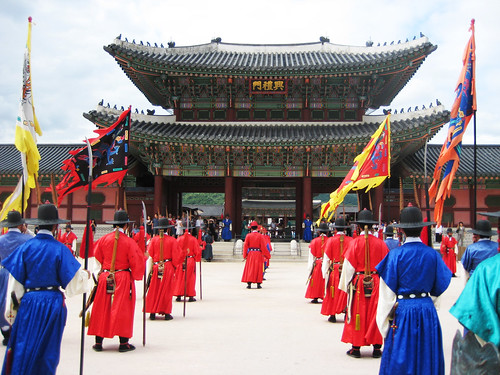 Changing of the Guard @ Gyeongbokgung