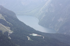 Konigsee, Germany's highest lake. View from the Kehlsteinhaus. (jayinvienna) Tags: kehlsteinhaus konigsee