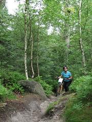 nie dos, e nie pacze, to jeszcze si umiecha ;) (Bart0lini) Tags: bike czechy rowery teplicenadmetuji