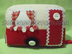 .:. Trailer - Peso de Porta .:. (Bonecos de Pano .Com) Tags: carro trailer carrinho pesodeporta pesoparaporta