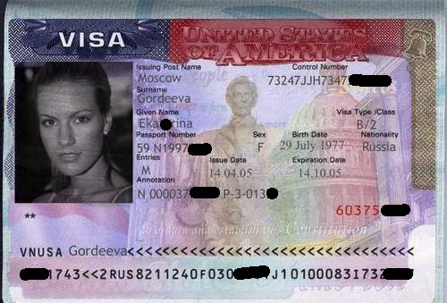 Los requisitos para solicitar la visa de turista son: