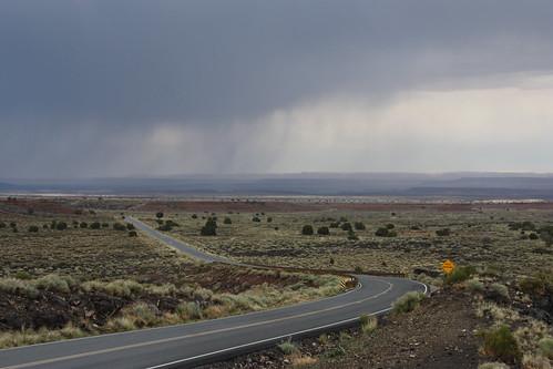 Gathering Storm en route to Wupatki National Monument
