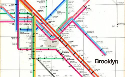brooklyn subway map
