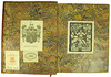 Book label and bookplate in Canis, Johannes Jacobus: De tabellionibus