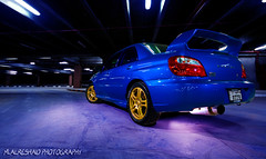 Subaru Impreza WRX (Part II) (Mishari Al-Reshaid Photography) Tags: lighting blue reflection cars car canon reflections japanese automobile garage parking flash wide turbo subaru kuwait impreza wrx canondslr canoneos q8 carphotos carphotography japanesecars flashes gtm carphoto canoncamera canonphotos q80 40d mishari kuwaitphoto kuwaitphotos 580exii canoneos40d canon40d kuwaitcars kvwc kuwaitartphoto gtmq8 kuwaitart kuwaitvoluntaryworkcenter kuwaitvwc canon580exiiflash kuwaitphotography misharialreshaid malreshaid misharyalrasheed