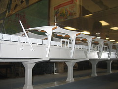 Elevated Rail model