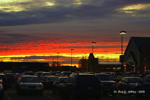 Sunset Over Walmart