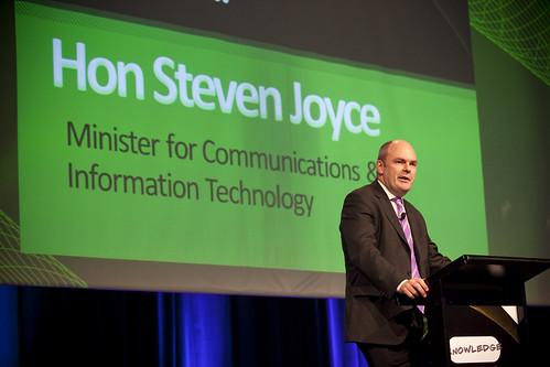 Hon Steven Joyce by techedlive.