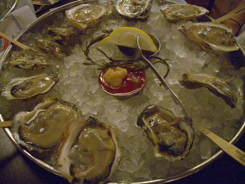 Legal Sea Foods oysters
