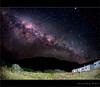 MilkyWay... (Chantal Steyn) Tags: light colour building stars landscape nikon long exposure nightscape fisheye nikkor 30sec milkyway d300 105mm nohdr goughisland