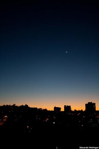 Por do Sol ao lado da Namorada - CEI - Campo Bom