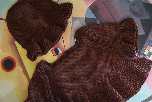 Whirligig Shrug and Hat set for Eva