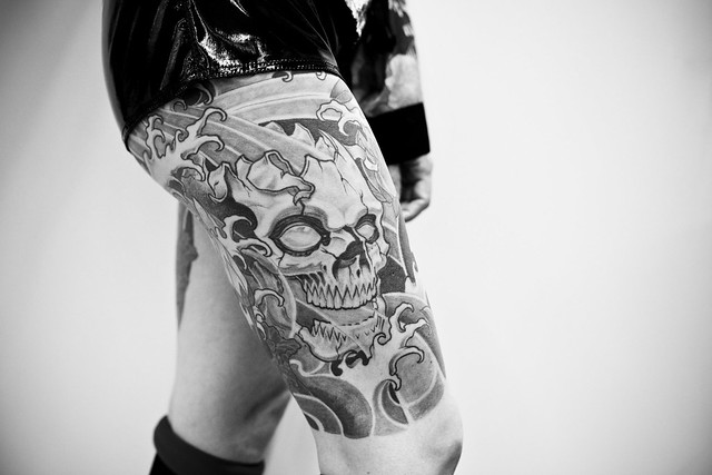During three days, the biggest french tattoo convention, the Tattoo Art Fest