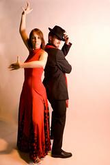 (Jordy B) Tags: woman man femme danse homme strobist mrpan strobistparis
