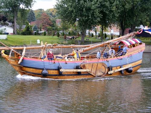 Henry Hudson Replica Ship