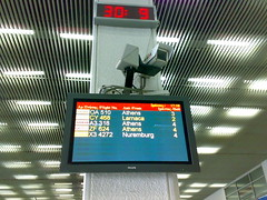 Heraklion airport, arrivals