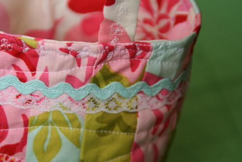 Friendship bag swap - detail